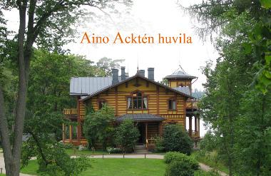 Aino Acktén huvila