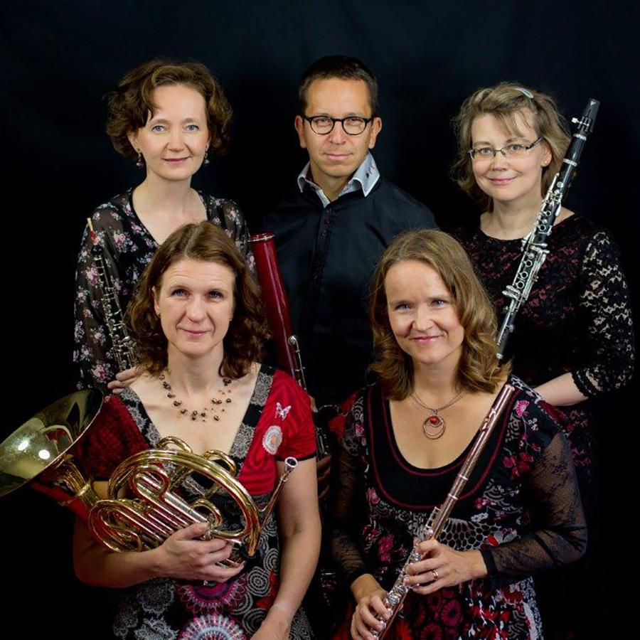 Puhallinkvintetti Spiratio – Näyttelykuvia